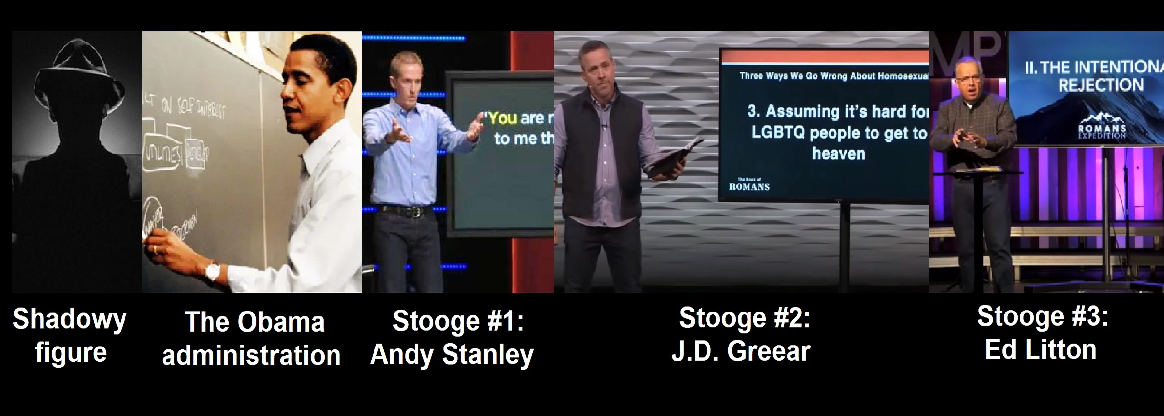 Daniel Whyte III's Theory Regarding Ed Litton and J.D. Greear's Plagiarism Sermongate Hell and the Case of the Three Stooges